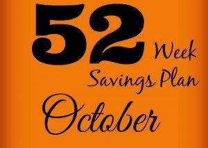 52 Weeks Savings Plan: Find Great Deals In October