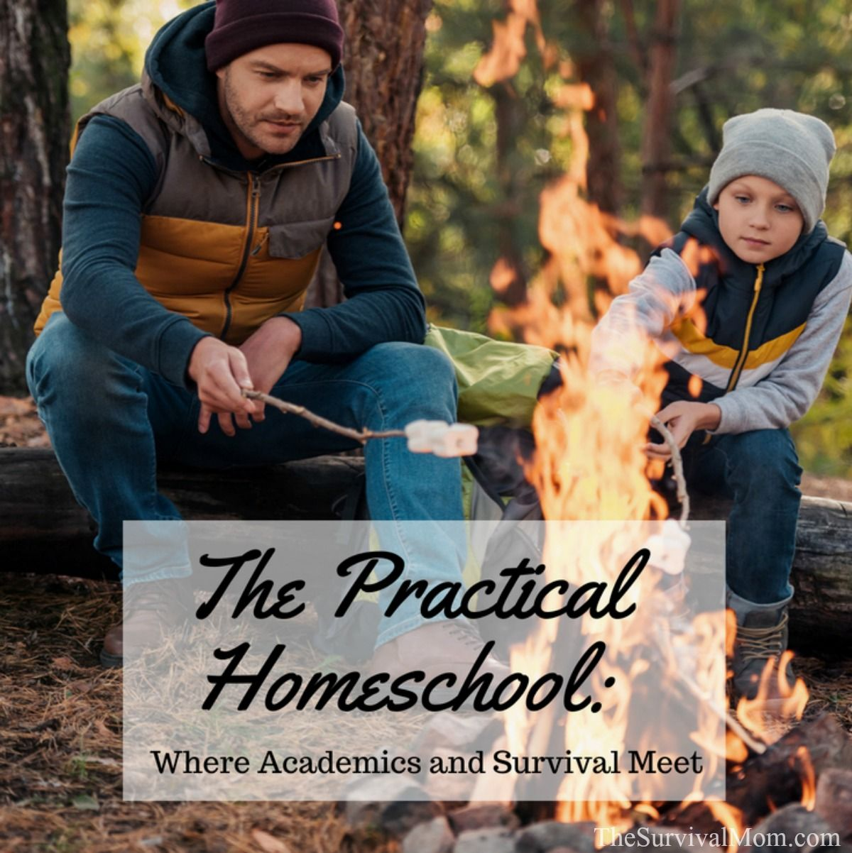 The Practical Homeschool Where Academics and Survival Meet via The Survival Mom