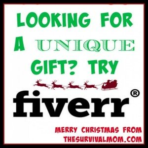 Looking for a UNIQUE Gift? Try Fiverr!