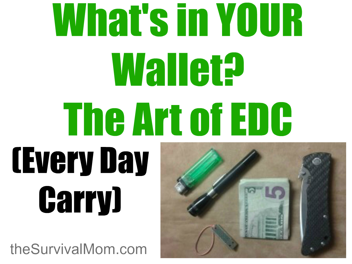 What's in YOUR Wallet? The Art of EDC (Every Day Carry)