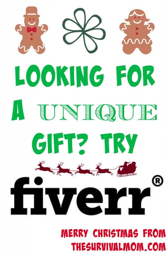unique giftts from fiverr
