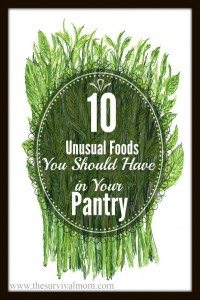 10 Unusual Foods You Should Have in Your Pantry