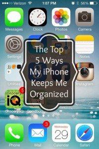 iphone organizing