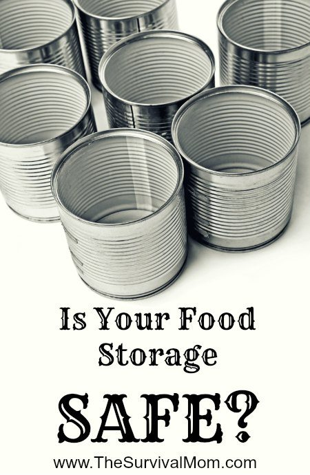 There is one simple thing you can do to ensure that you food storage is safe.