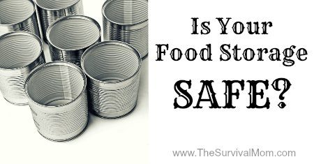 There is one simple thing you can do to ensure that you food storage is safe!  www.TheSurvivalMom.com