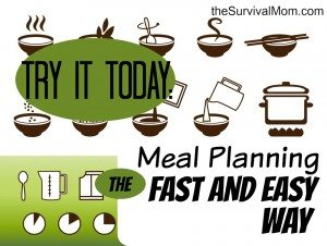 We should all do meal planning, but having the same thing every week can be boring, the family can be resistant, and it's a lot for one person. What to do? I via TheSurvivalMom.com