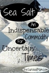 Sea Salt – An Indispensable Commodity for Uncertain Times