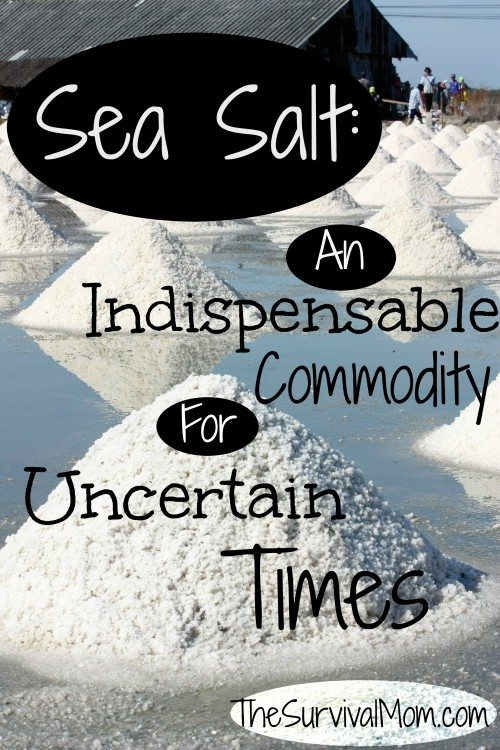 You have food and water, but did you know you might be missing a critical supply? Sea salt is far more than just a flavoring when you cook. I via The Survival Mom