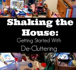 Shaking the House: Getting Started With Decluttering
