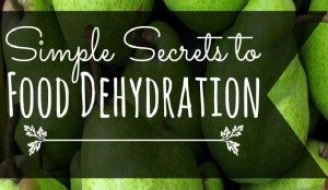 Simple Secrets of Food Dehydration