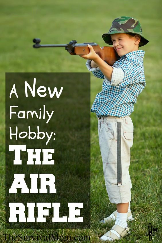 The air rifle can provide a fun family hobby and help kids develop shooting skills.  www.TheSurvivalMom.com