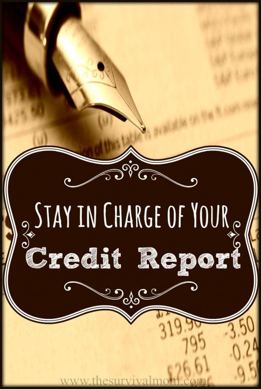Have you looked at your credit report recently? Do you know how to find it and why you really need to look at it regularly? | www.TheSurvivalMom.com