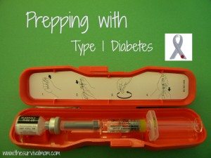 Prepping With Type 1 Diabetes