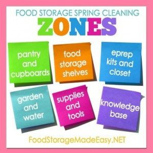 spring cleaning zones