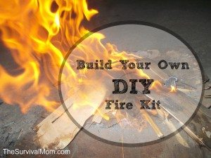 Build your own DIY Fire Kit with just a few supplies. | via www.TheSurvivalMom.com