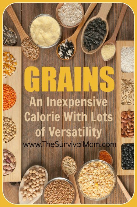 Grains are an inexpensive calorie and there is a lot of versatility to be found! Learn about 8 different food storage grains and how to use them.