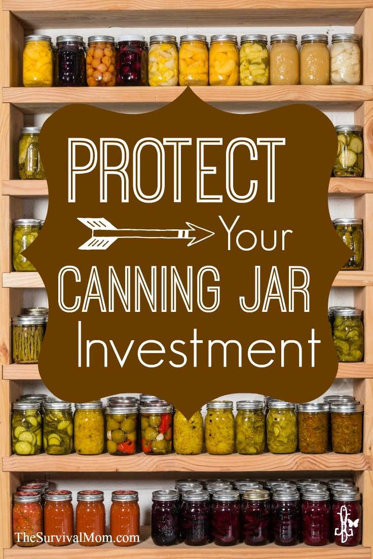 Protect your canning jars from breakage with these tips. | www.TheSurvivalMom.com