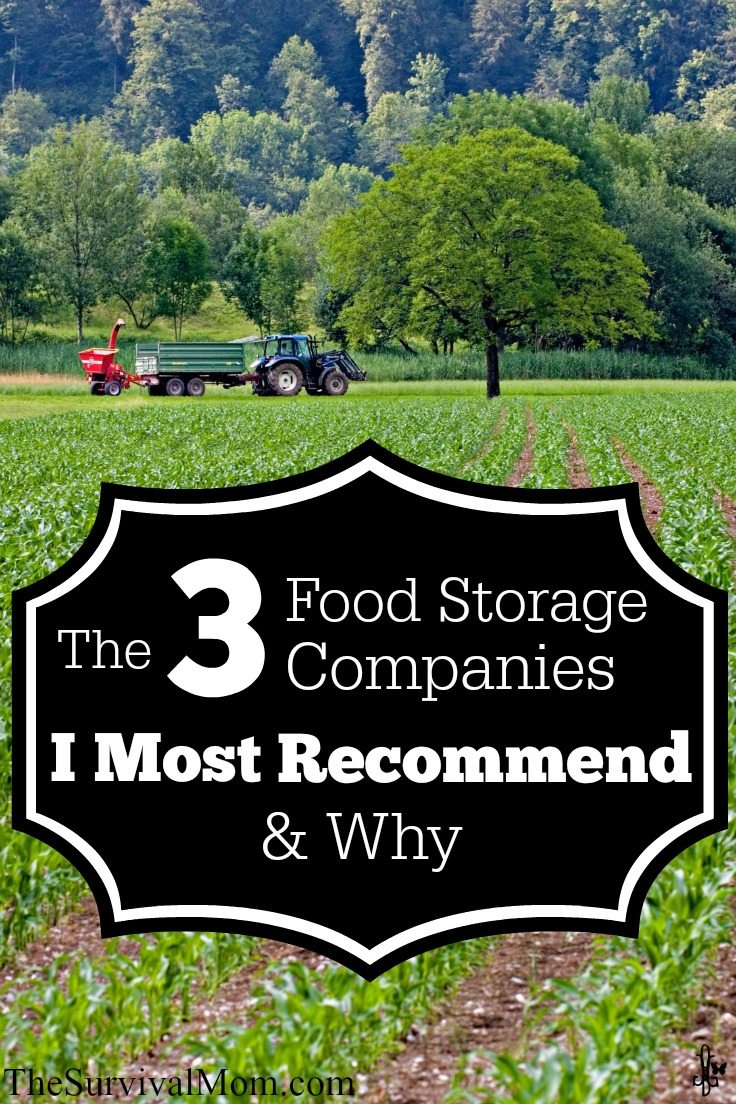 Survival Mom recommended food storage companies.