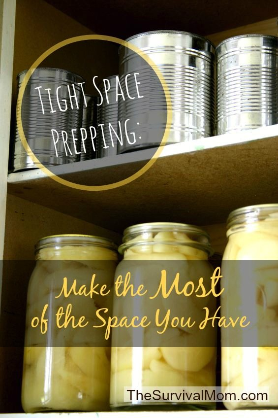 Tips for finding storage space in your home. | via www.TheSurvivalMom.com