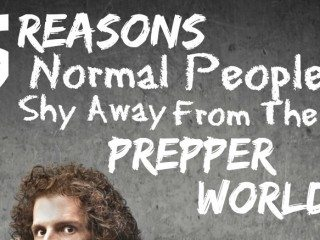 Some folks don't think preppers are quite normal. Here's why... www.TheSurvivalMom.com