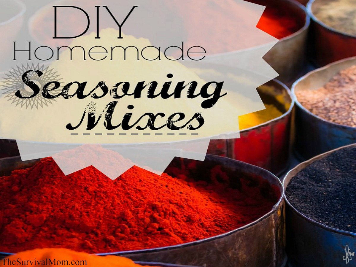 DIY seasoning mixes. Easy, healthy. TheSurvivalMom.com