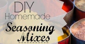 DIY Homemade Seasoning Mixes