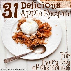 31 Delicious Apple Recipes for Every Day of the Month!