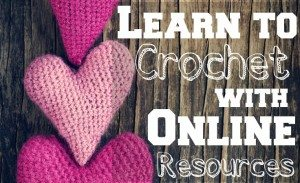 Learn to crochet with free, online resources.