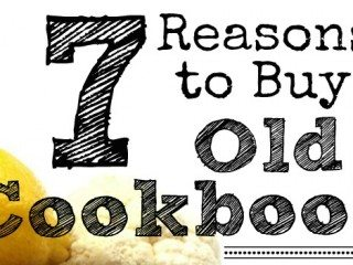 buy old cookbooks