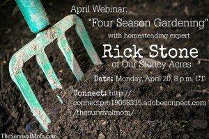 Four Season Gardening — Webinar Recording!