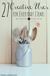 27 Creative Uses for Everyday Items