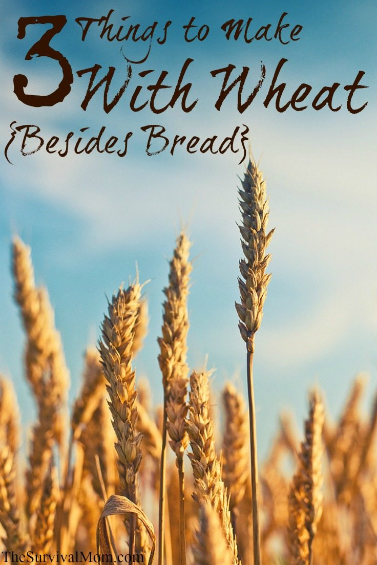 Things to make with wheat, besides bread.