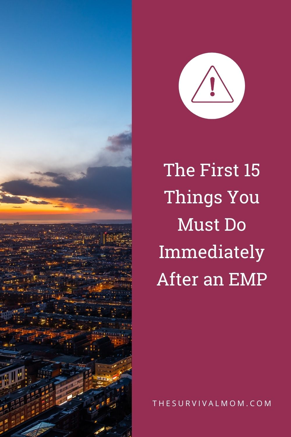 The First 15 Things You Must Do Immediately After an EMP via The Survival Mom