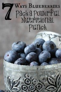 7 Ways Blueberries Pack a Powerful, Nutritional Punch to Your Food Storage Pantry