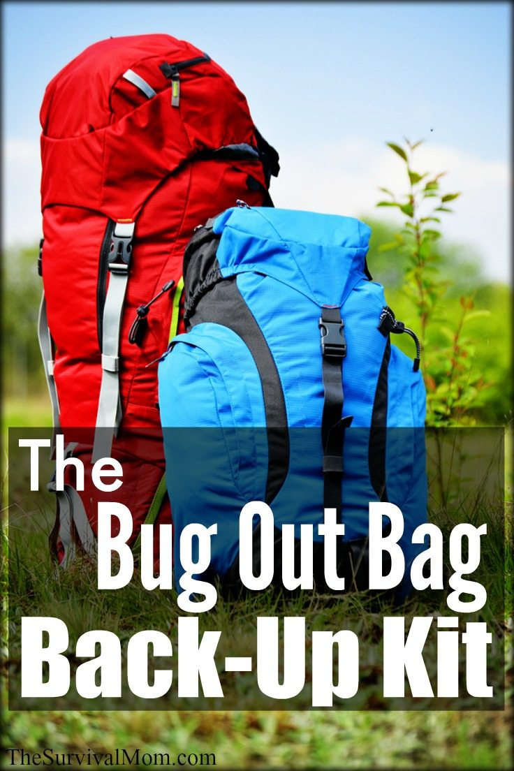 bug out bag backup kit