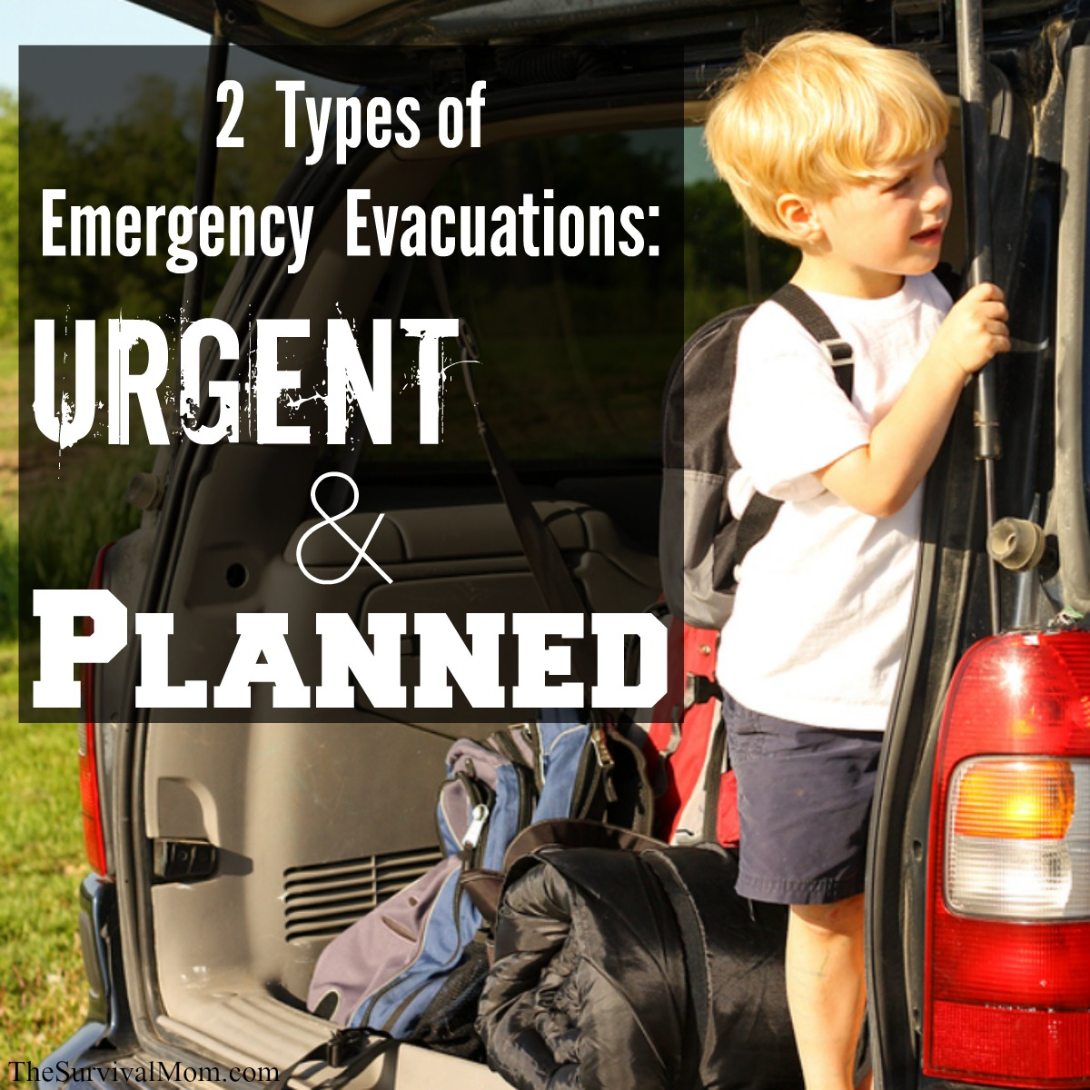 emergency evacuation plans