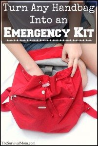 How to Turn Any Handbag Into an Emergency Kit