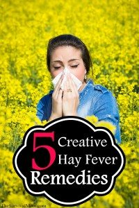 creative hay fever remedies