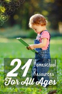 21 Homeschool Resources For All Ages