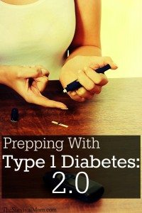 prepping with diabetes
