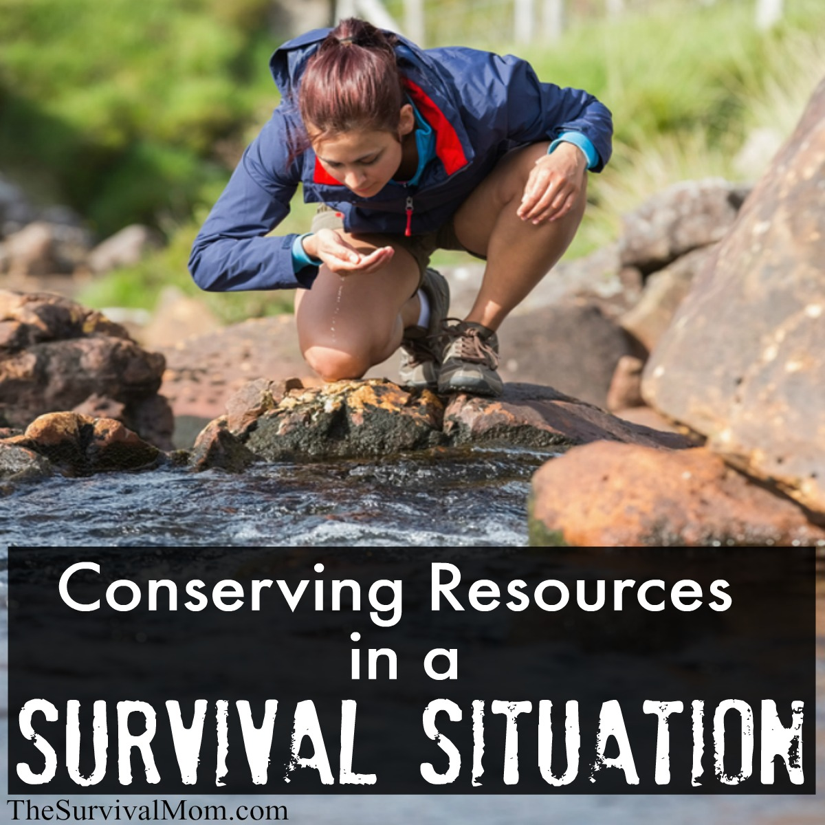 conserving survival resources