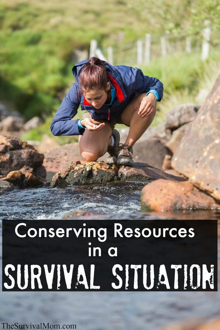 conserving survival resources