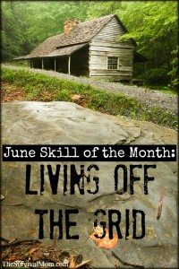 living off grid skills
