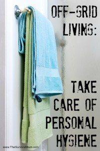 off grid Personal Hygiene