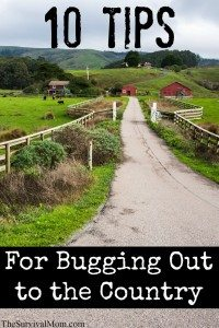 10 Tips For Bugging Out to the Country