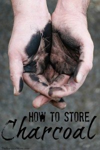 Instant Survival Tip: How to Store Charcoal