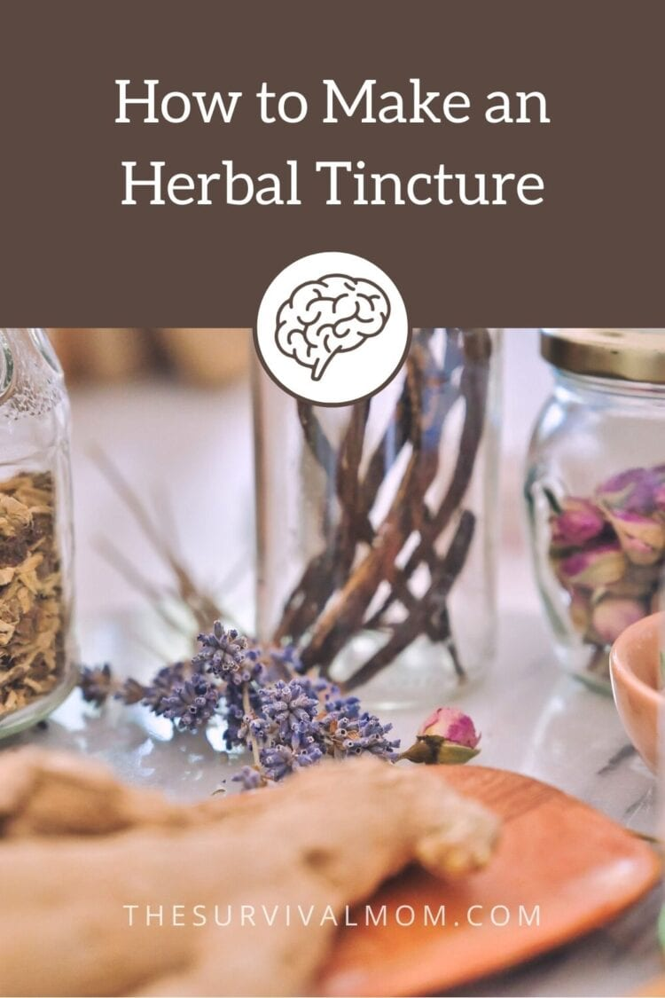image: herbs, vanilla beans in a jar