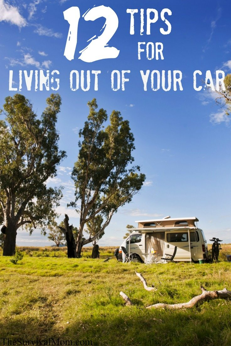 living out of your car