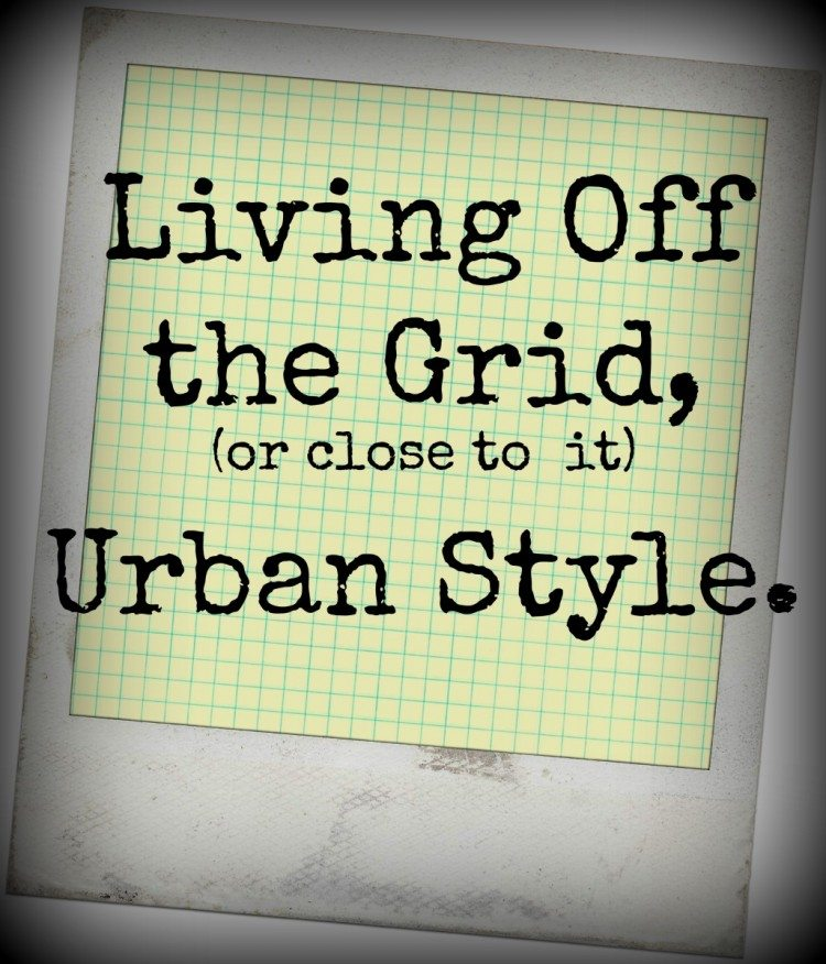 urban living off grid