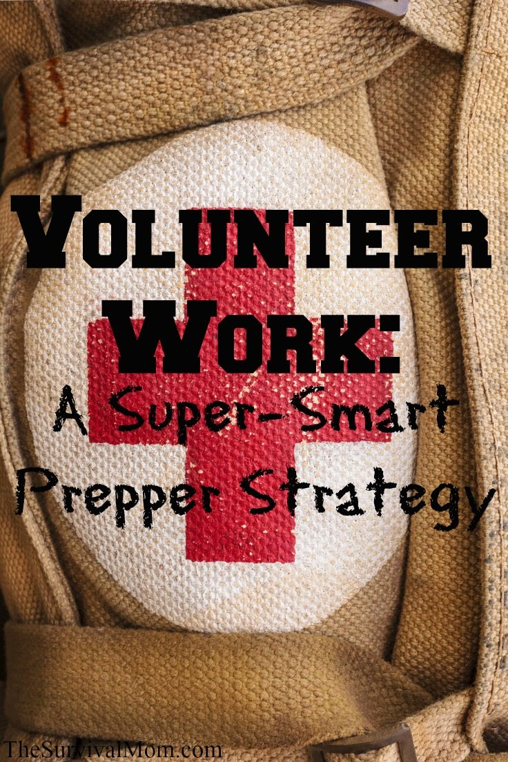 learn prepper skills through volunteer work